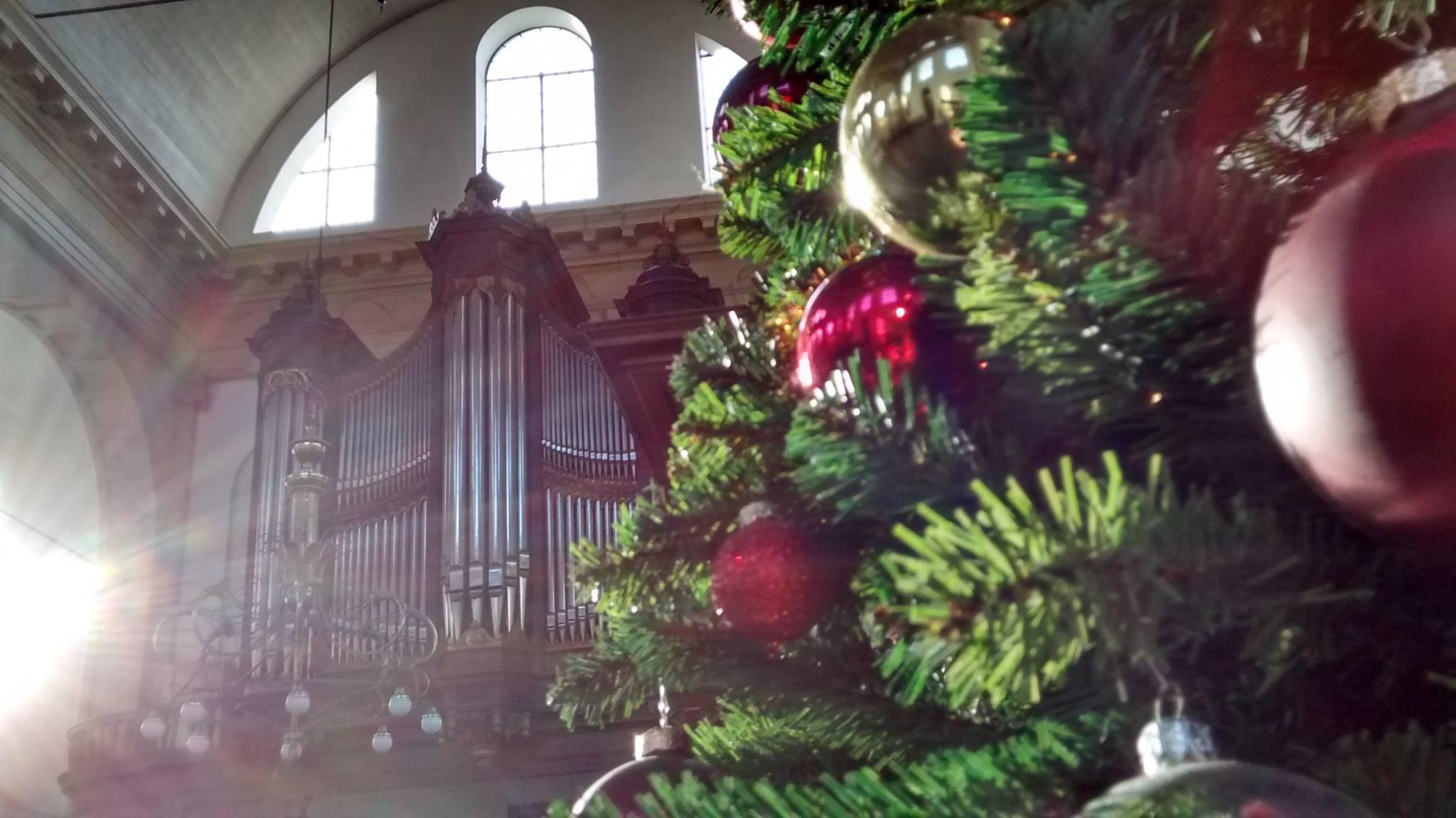Oosterkerk Amsterdam kerst